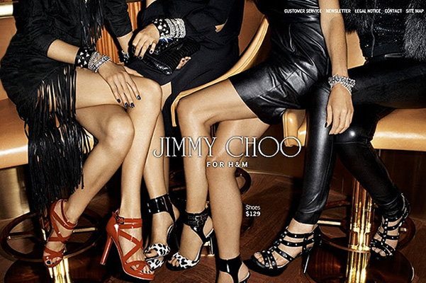 Jimmy Choo for H&M, 2009 год