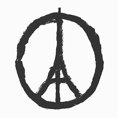 Рисунок Жана Жюльена Peace for Paris