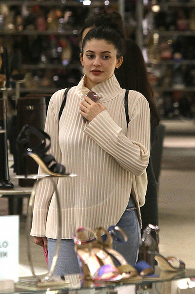 Kylie without makeup