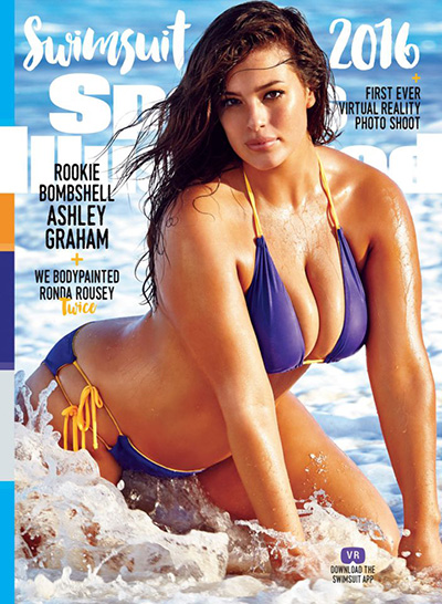 Эшли Грэм на обложке Sports Illustrated