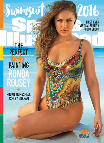 Ронда Роузи на обложке Sports Illustrated