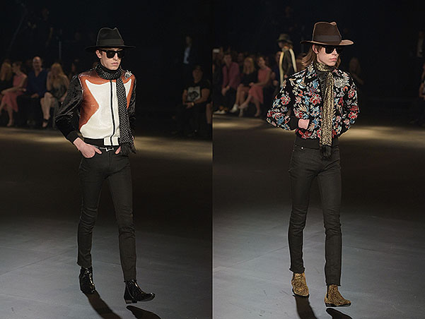 Шоу Saint Laurent в Лос-Анджелесе