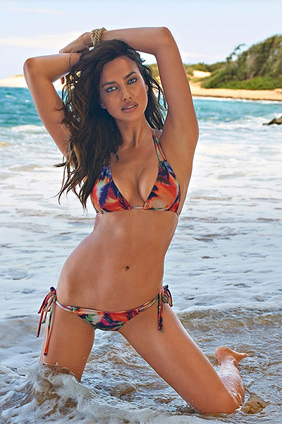 Ирина Шейк в Sports Illustrated, 2015 год