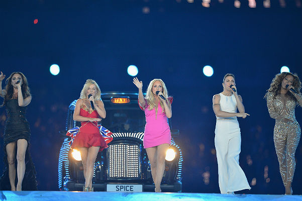 Spice Girls на закрытии Олимпиады в Лондоне в 2012 году