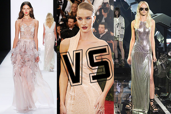 Рози Хантингтон-Уайтли: Badgley Mischka VS Philipp Plein
