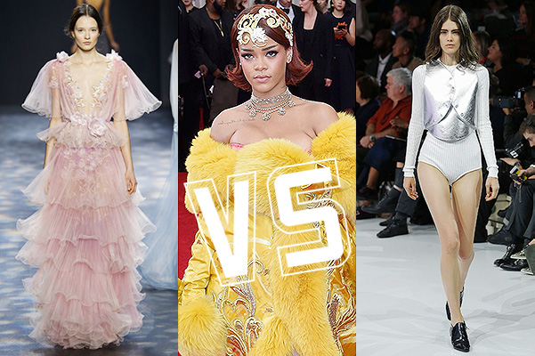 Рианна: Marchesa VS Courrèges