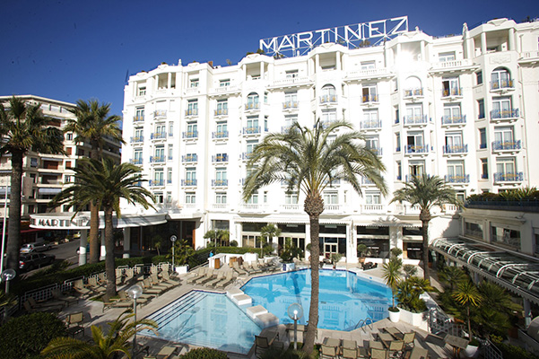 Отель Grand Hyatt Cannes Martinez