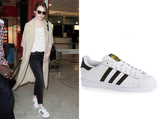 Эмма Стоун Adidas Originals Superstar