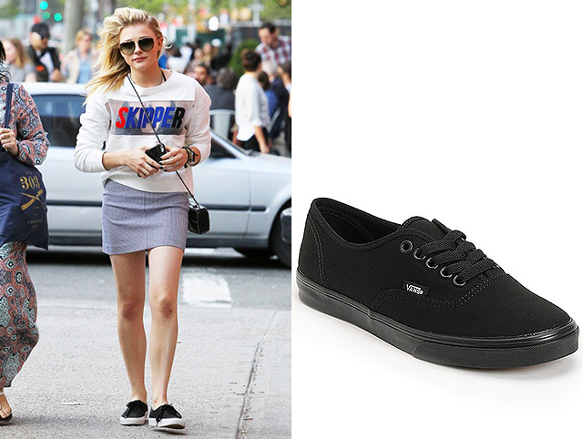Хлоя Морец Vans Authentic Lo Pro