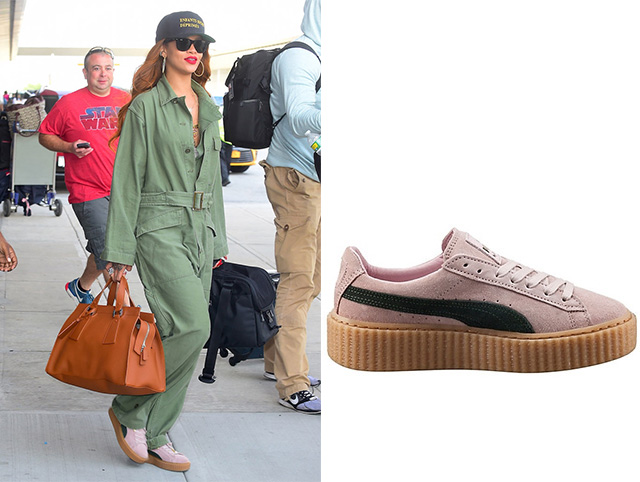 Рианна в Fenty x Puma Creeper by Rihanna