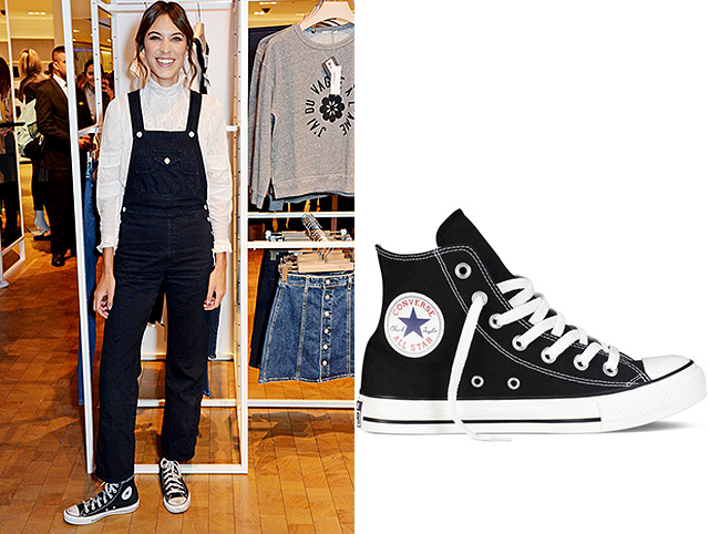 Алекса Чанг в Converse Chuck Taylor All Star High-Top