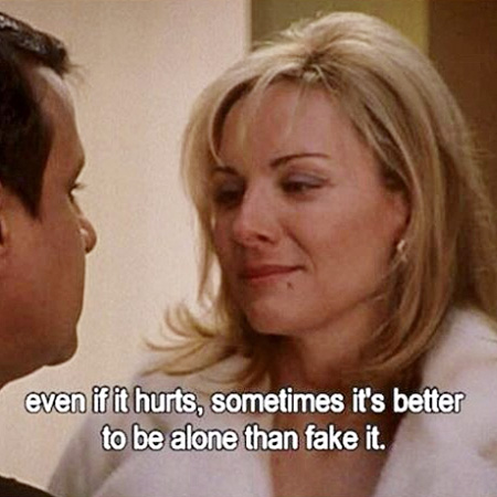 Instagram @sexandthecity_quote/