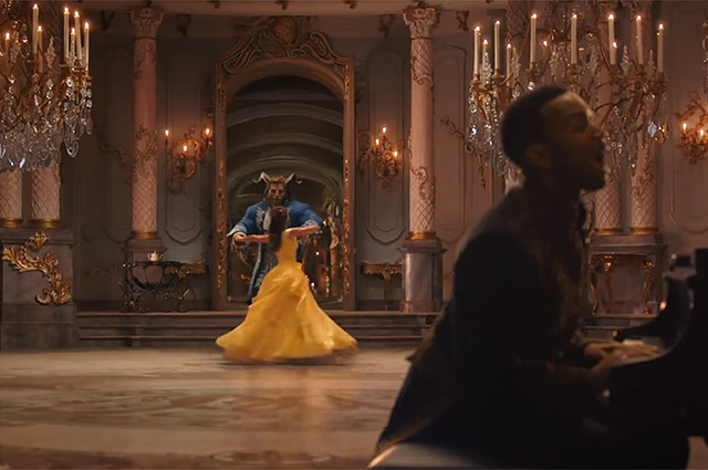 Джон Ледженд в клипе Beauty and the Beast