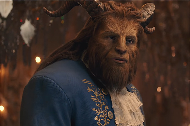 Дэн Стивенс в клипе Beauty and the Beast