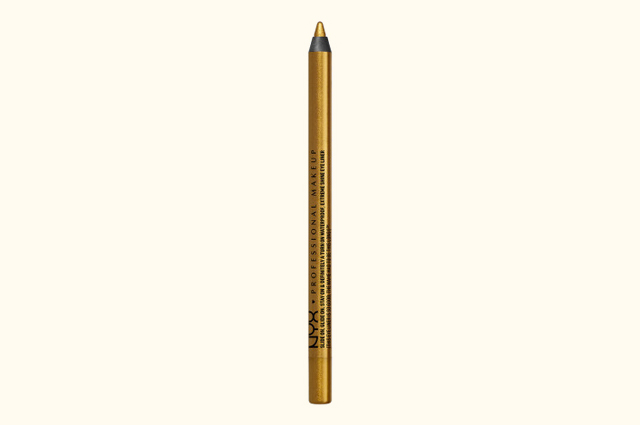 Стойкий карандаш NYX Slide On Pencil в оттенке 18 Glitzy Gold, 480 р.