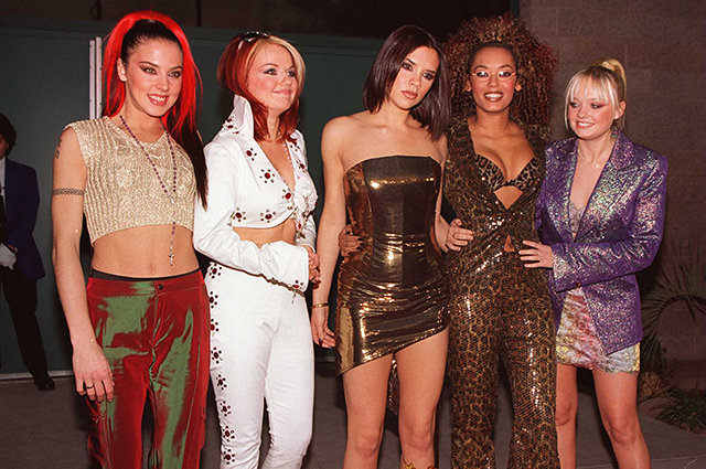 Группа Spice Girls на American Music Awards 1998 год