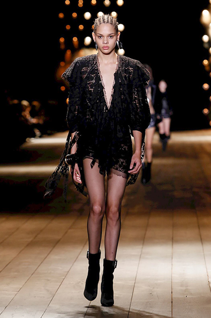 Коллекция Saint Laurent осень-зима 2018/2019