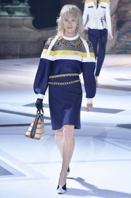 Показ Louis Vuitton осень-зима 2018/19
