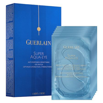 Патчи Super Aqua-Eye Anti-Puffiness Smoothing Eye Patch от Guerlain