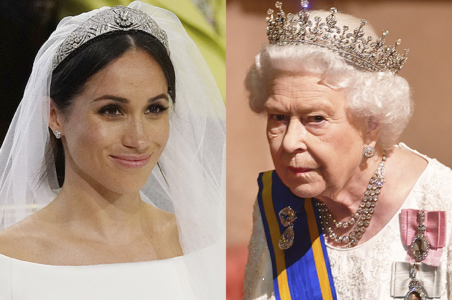 The media said about the conflict Megan Markle and Queen Elizabeth Bear because of marriage tiara