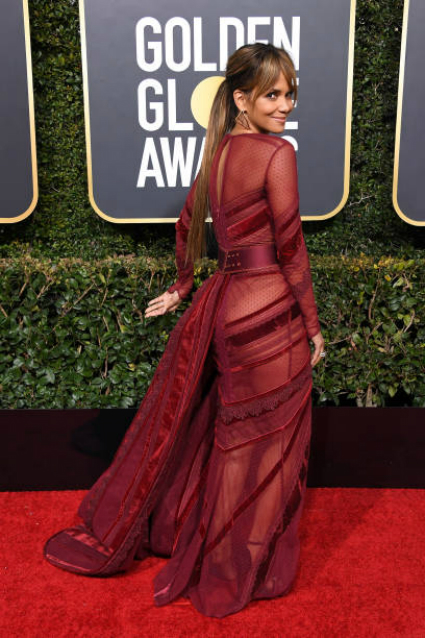 Golden Globe 2019 Halle Berry Op De Rode Loper Newsprima