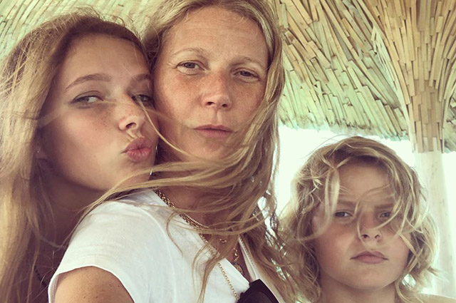 How Gwyneth Paltrow, Gisele Bundchen, Salma Hayek and others celebrated Mother's Day