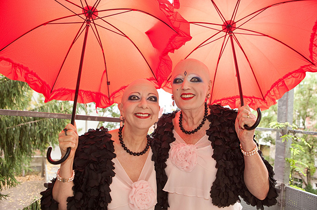 This is Adele and Eve. They deny gender and make art out of their lives.