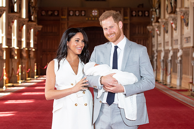 Megan Markle and Prince Harry for the first time told about the newborn son: