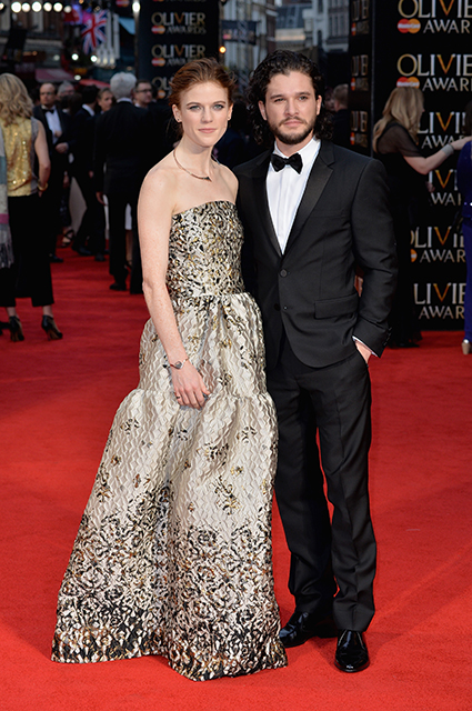 Rose Leslie and Keith Harington