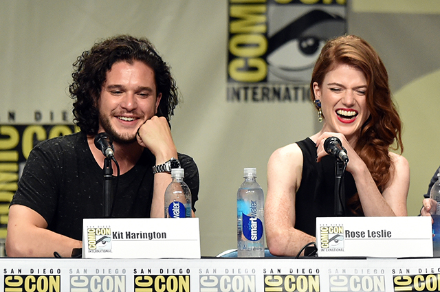 Keith Harington and Rose Leslie
