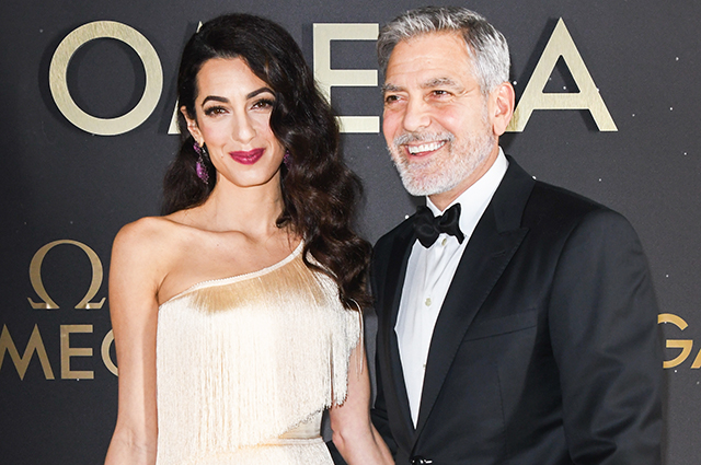 Glam Outlet: Amal and George Clooney at the Orlando Social Party