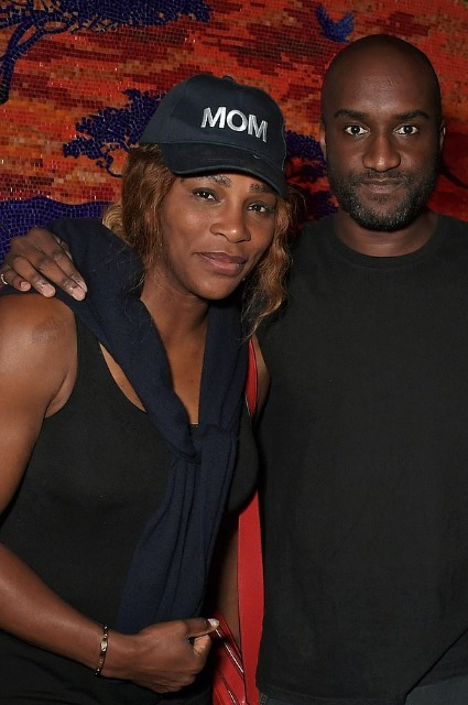 Serena Williams and Virgil Ablo