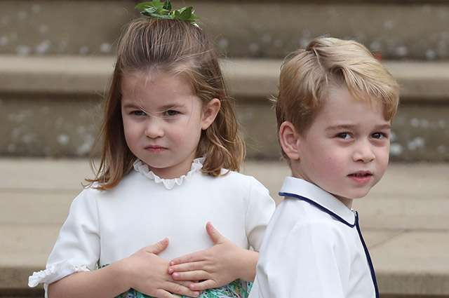 38 royal children from British, Spanish, Thai, Swedish and other royal families