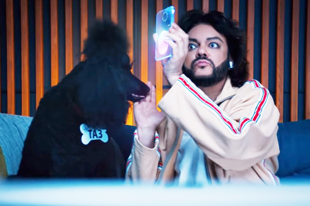 Frame from the new clip of Philip Kirkorov