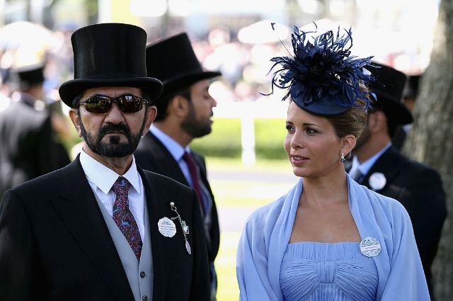 The runaway wife of the ruler of Dubai was suspected in the novel with the bodyguard