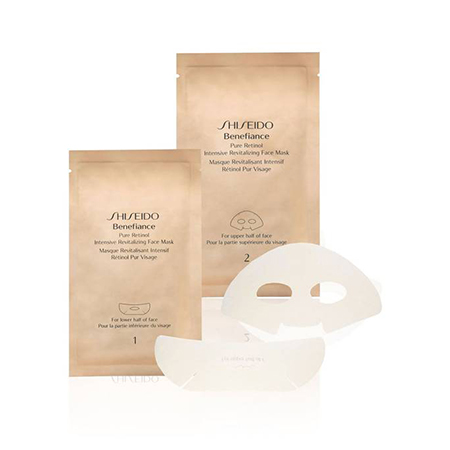Маска с ретинолом Pure Retinol Intensive Revitalising Face Mask, Shiseido