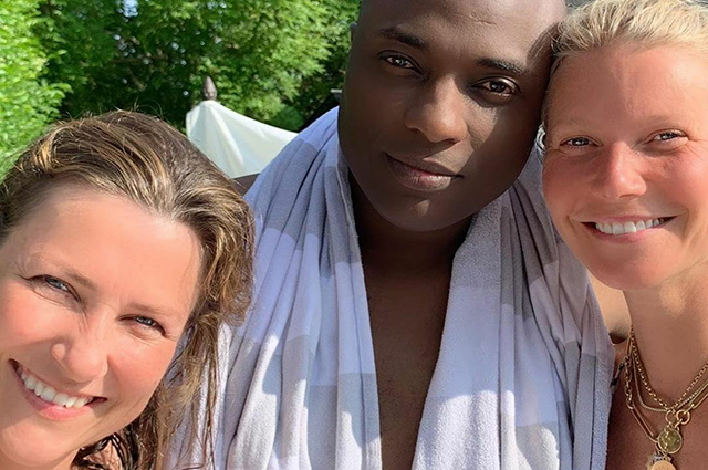 Norwegian princess Martha Louise and her shaman boyfriend met with Gwyneth Paltrow