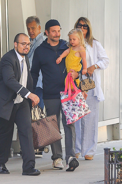 Bradley Cooper with daughter Leah
