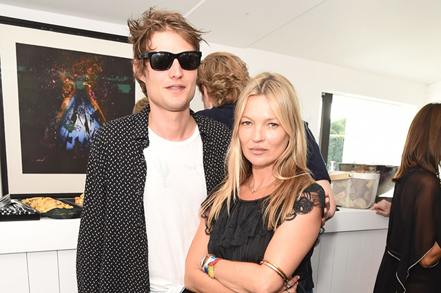 Kate Moss and Nikolai von Bismarck
