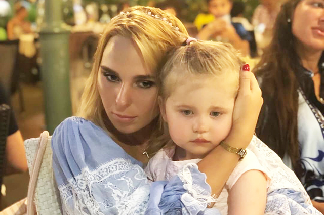 Pelagia published a new video featuring daughter Taisiya