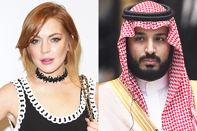 Media: Lindsay Lohan Tied