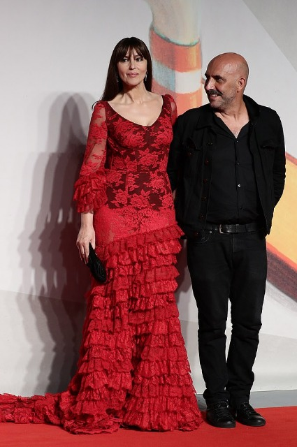 Monica Bellucci and Gaspard Noe