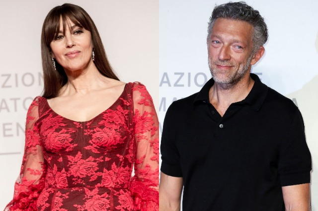 Monica Bellucci and Vincent Cassel at the film screening