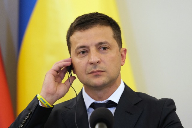Vladimir Zelensky gave an interview on the occasion of 100 days as president