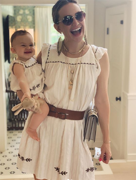 Kate Hudson with daughter