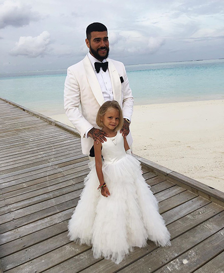 Timati with daughter Alice
