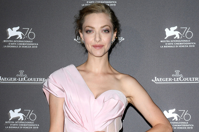 Amanda Seyfried attends the gala reception of the watch brand as part of the Venice Film Festival