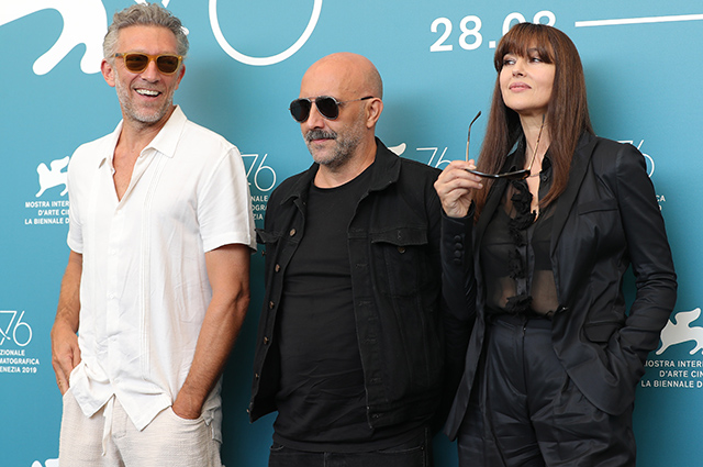 Monica Bellucci and Vincent Cassel at the film's photocall