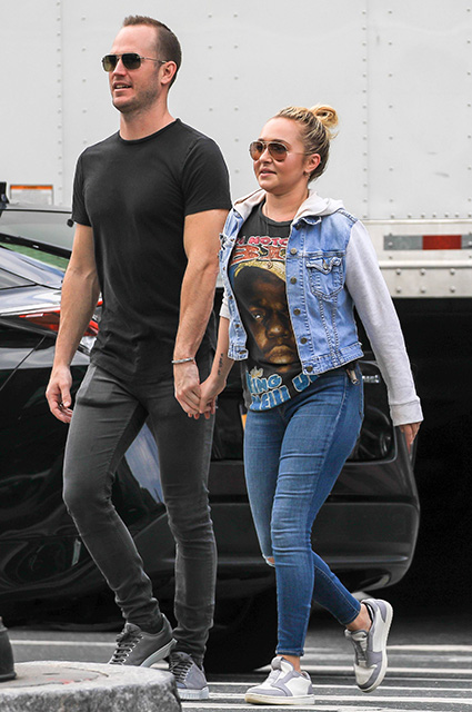 Hayden Panettiere and Zack Hickerson