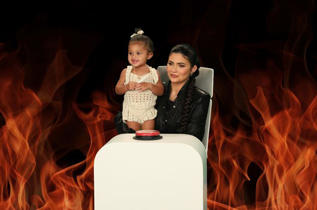 Kylie Jenner with daughter Stormy became guests of the show Ellen Degeneres